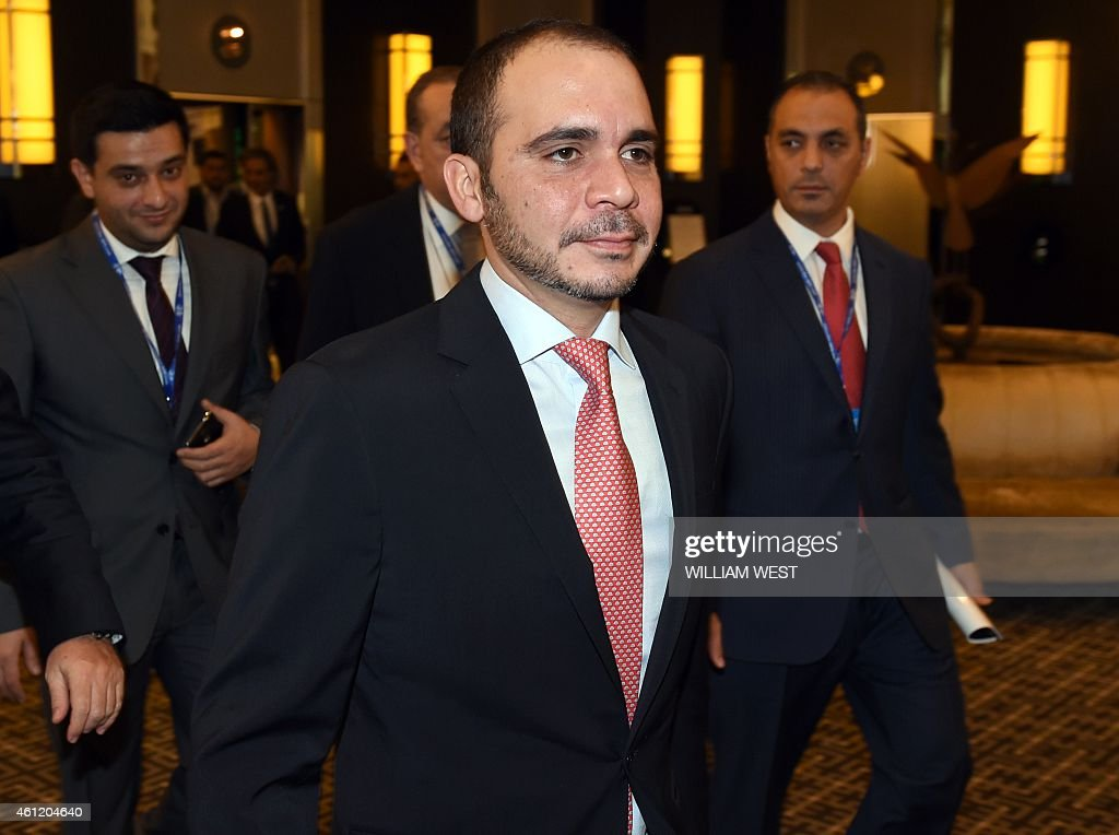 FIFA vicepresident Prince Ali bin Al Hussein of Jordon arrives for the Asian Football Confederation Extraordinary Congress meeting in Melbourne...