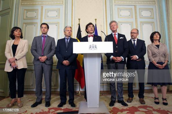 VicePrime Minister and Interior Minister Joelle Milquet VicePrime Minister and Minister of Pensions Alexander De Croo VicePrime Minister and Foreign...