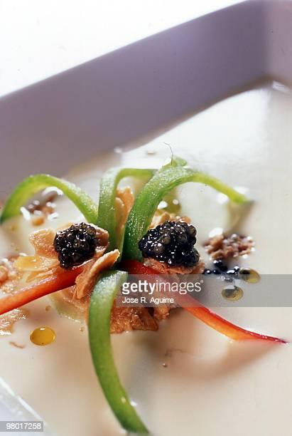 Vichyssoise (Cold leek cream)