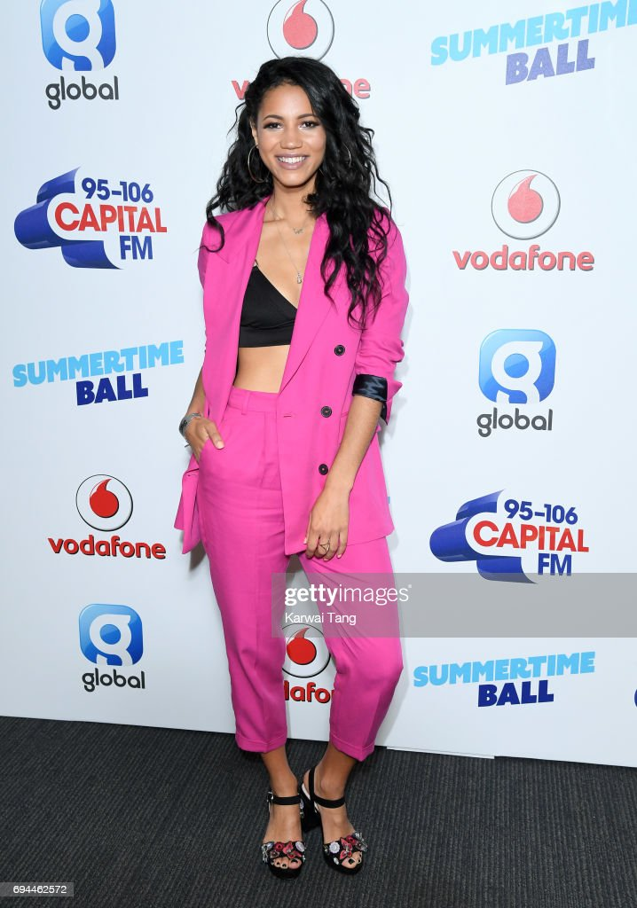 Vick Hope attends the Capital Summertime Ball at Wembley Stadium on June 10, 2017 in London, United Kingdom.