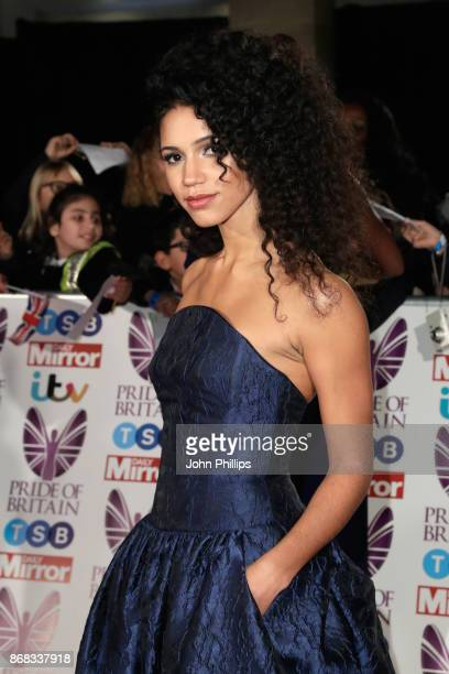 Vick Hope attends the Pride Of Britain Awards at Grosvenor House on October 30 2017 in London England
