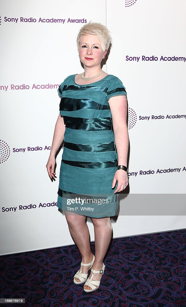 Vicki Blight attends the Sony Radio Academy Awards at The Grosvenor House Hotel on May 13, 2013 in London, England.