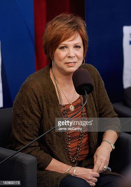 Vicki Lawrence attends the SiriusXM Town Hall with Carol Burnett at SiriusXM Studios on September 26 2012 in New York City