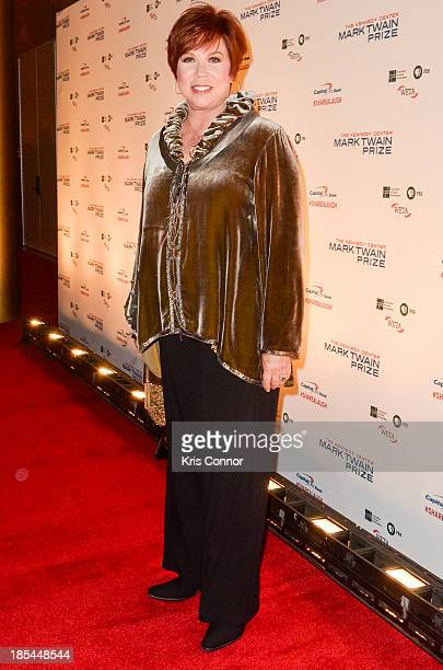 Vicki Lawrence poses on the red carpet during The 16th Annual Mark Twain Prize For American Humor at John F Kennedy Center for the Performing Arts on...