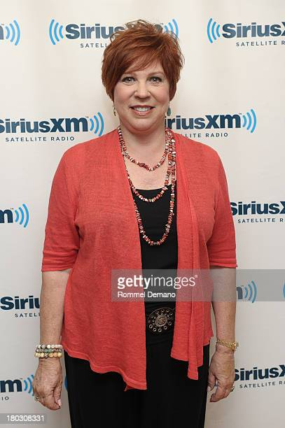 Vicki Lawrence visits SiriusXM Studios on September 11 2013 in New York City