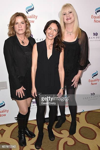 Vicki Peterson Susanna Hoffs and Debbi Peterson attend Equality Now's 3rd Annual 'Make Equality Reality' Gala Arrivals at Montage Beverly Hills on...