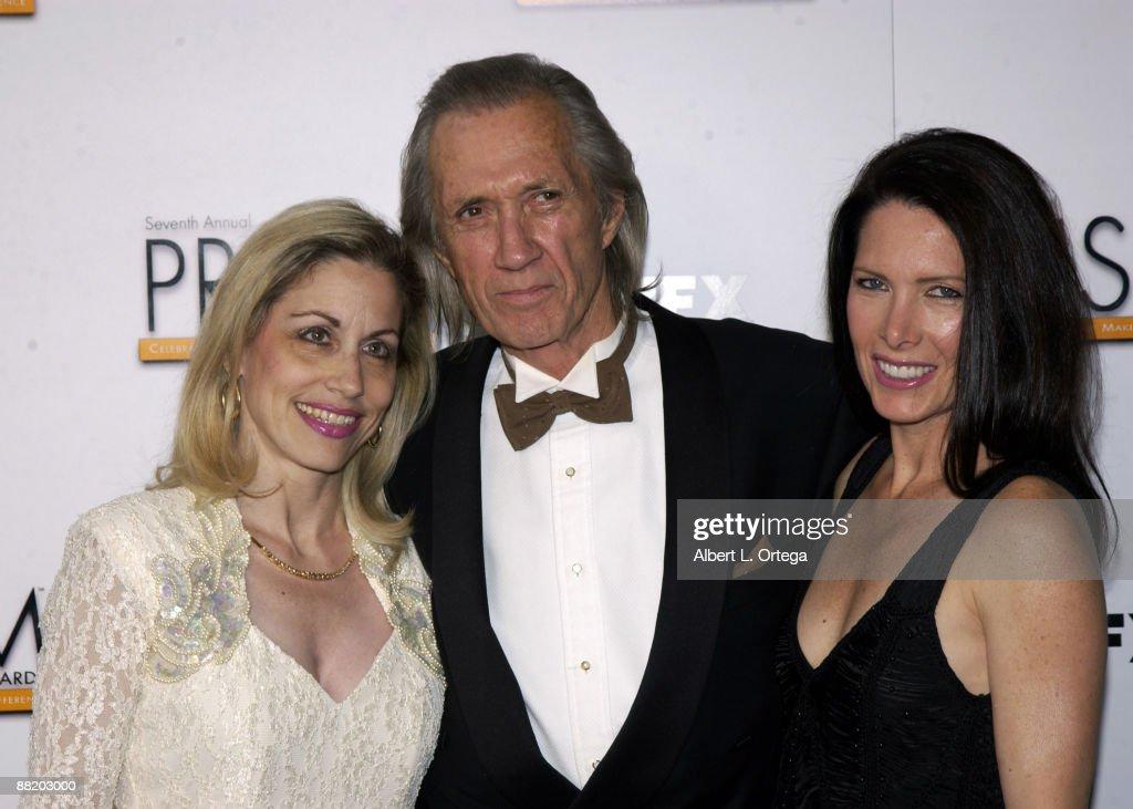 Vicki Roberts, David Carradine and Annie Bierman