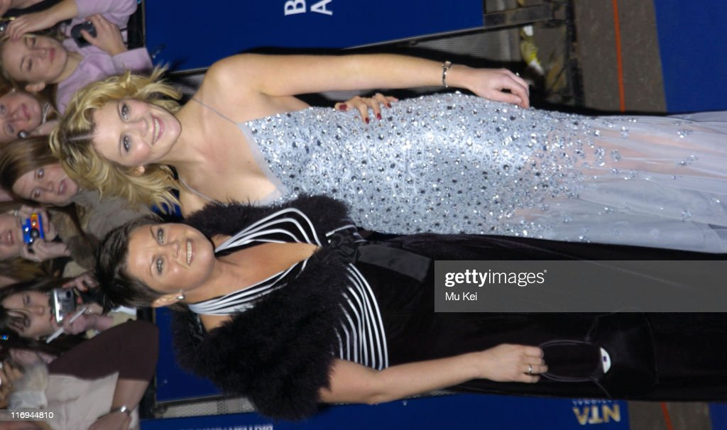 Vicky Entwistle and Jane Danson during National Television Awards 2005 at Royal Albert Hall, London in London, United Kingdom.