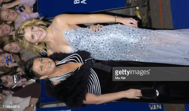 Vicky Entwistle and Jane Danson during National Television Awards 2005 at Royal Albert Hall London in London United Kingdom