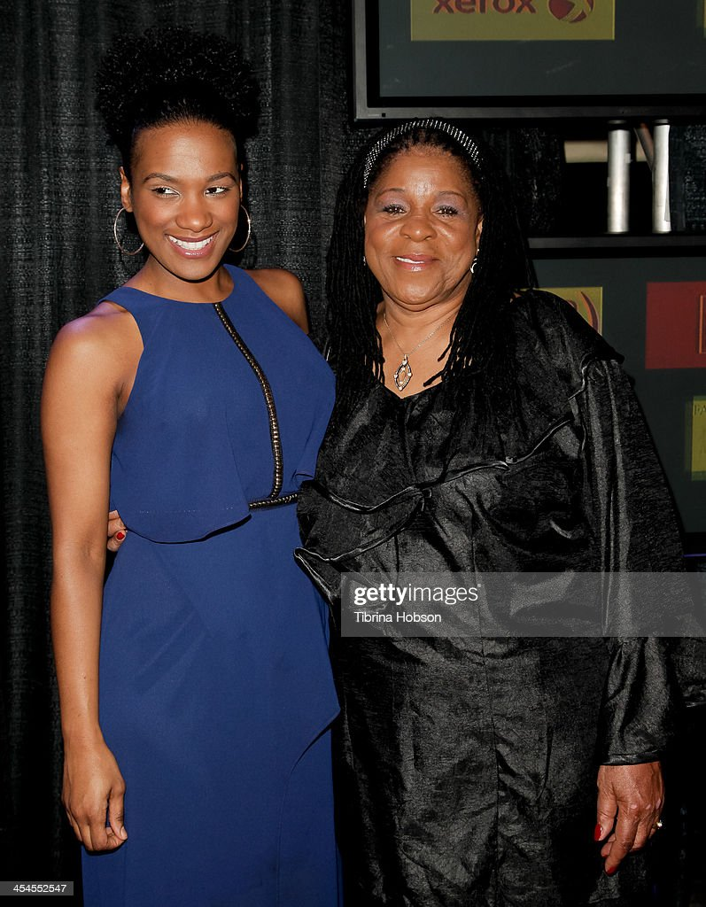Vicky Jeudy and Susan Burton attend the CNN 's 'A New Way of Life Reentry Project' 15th annual fundraising gala at Omni Los Angeles Hotel on December 8, 2013 in Los Angeles, California.