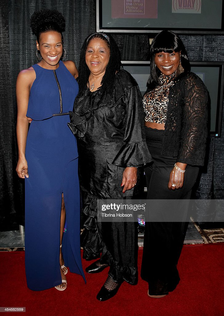 Vicky Jeudy, Susan Burton and Tiffany Johnson attend the CNN 's 'A New Way of Life Reentry Project' 15th annual fundraising gala at Omni Los Angeles Hotel on December 8, 2013 in Los Angeles, California.