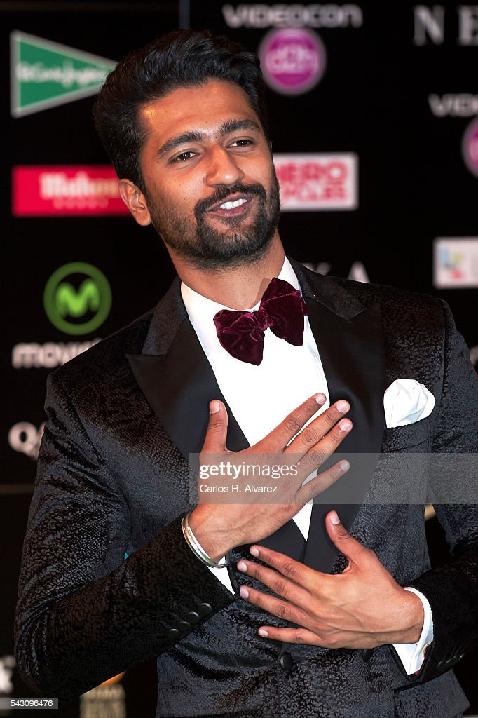 Vicky Kaushal attends the 17th IIFA Awards (International Indian Film Academy Awards) at Ifema on June 25, 2016 in Madrid, Spain.