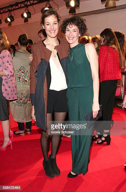 Vicky Krieps and Eileen Byrne during the New Faces Award Film 2016 at ewerk on May 26 2016 in Berlin Germany