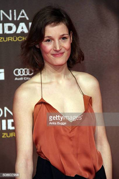 Vicky Krieps attends the 'Colonia Dignidad Es gibt kein zurueck' Berlin premiere at CineStar on February 5 2016 in Berlin Germany