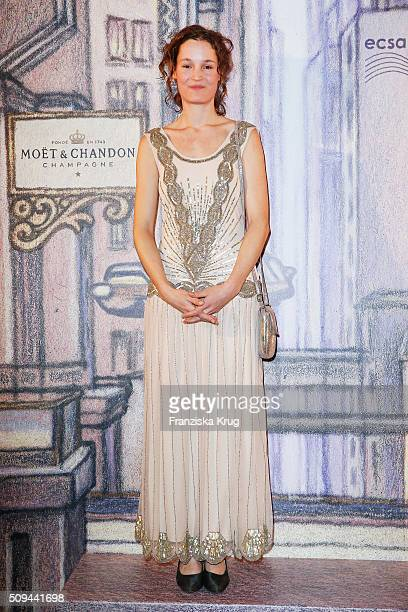 Vicky Krieps attends the Moet Chandon Grand Scores 2016 at Hotel De Rome on February 6 2016 in Berlin Germany