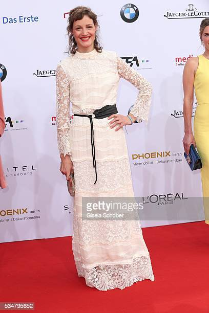 Vicky Krieps wearing a dress by HM during the Lola German Film Award 2016 on May 27 2016 in Berlin Germany