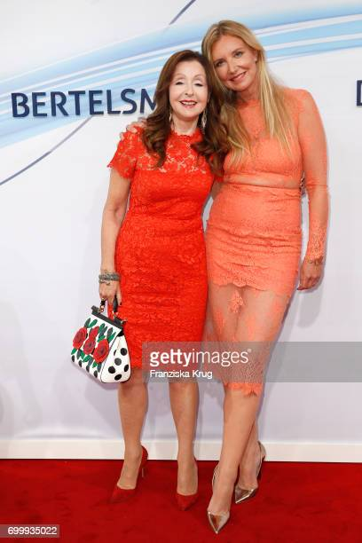 Vicky Leandros and Jette Joop attend the 'Bertelsmann Summer Party' at Bertelsmann Repraesentanz on June 22 2017 in Berlin Germany