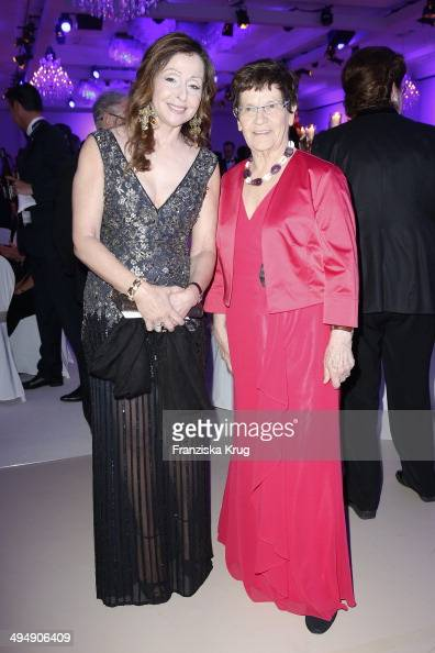 Vicky Leandros and Rita Suessmuth attend the Rosenball 2014 on May 31 2014 in Berlin Germany