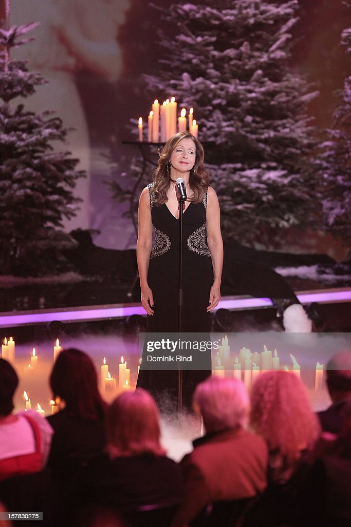 Vicky Leandros attends 'Die Schoensten Weihnachtshits Mit Carmen Nebel' Show on December 6, 2012 in Munich, Germany.