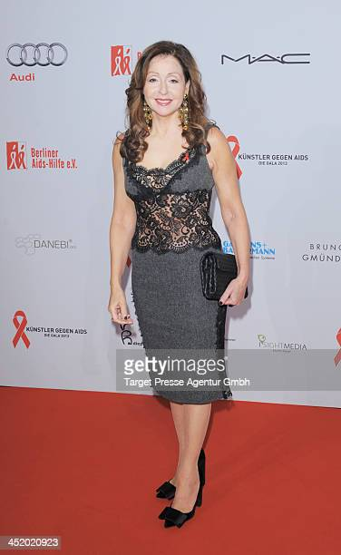 Vicky Leandros attends the Artists Against Aids Gala 2013 at Stage Theater on November 25 2013 in Berlin Germany
