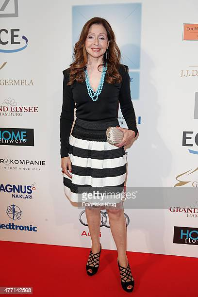 Vicky Leandros attends the 'Das Herz im Zentrum' Charity Gala on June 14 2015 in Hamburg Germany