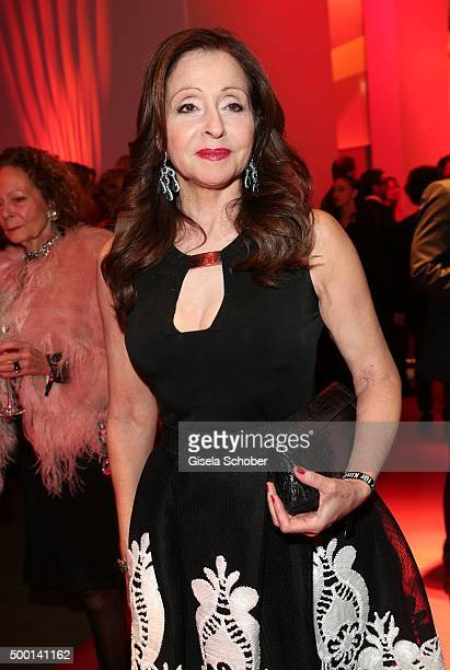 Vicky Leandros attends the Ein Herz Fuer Kinder Gala 2015 reception at Tempelhof Airport on December 5 2015 in Berlin Germany