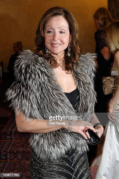 Vicky Leandros attends the Russian Fashion Gala at the Russian Embassy on March 17 2010 in Berlin Germany