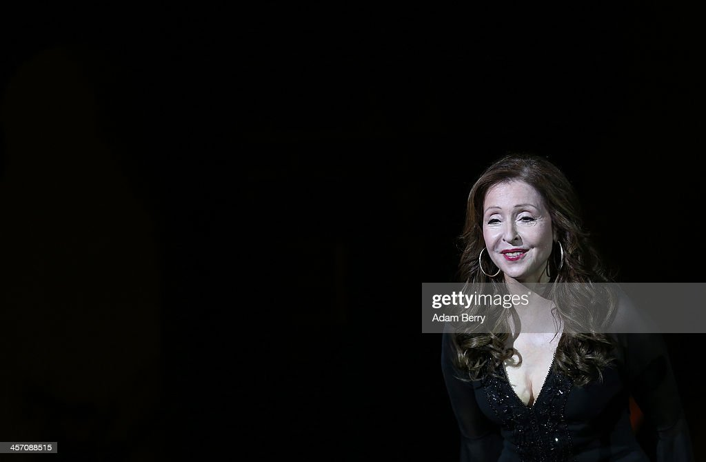 Vicky Leandros performs during a concert at Passionskirche on December 16 2013 in Berlin Germany