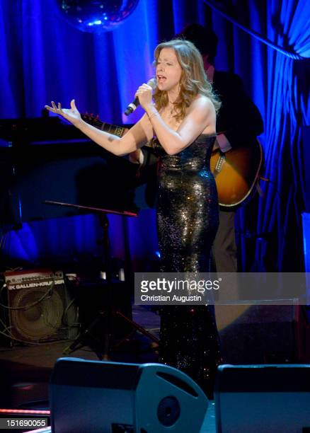 Vicky Leandros performs during 'Tag der Legenden' at Schmidts Tivoli on September 9 2012 in Hamburg Germany