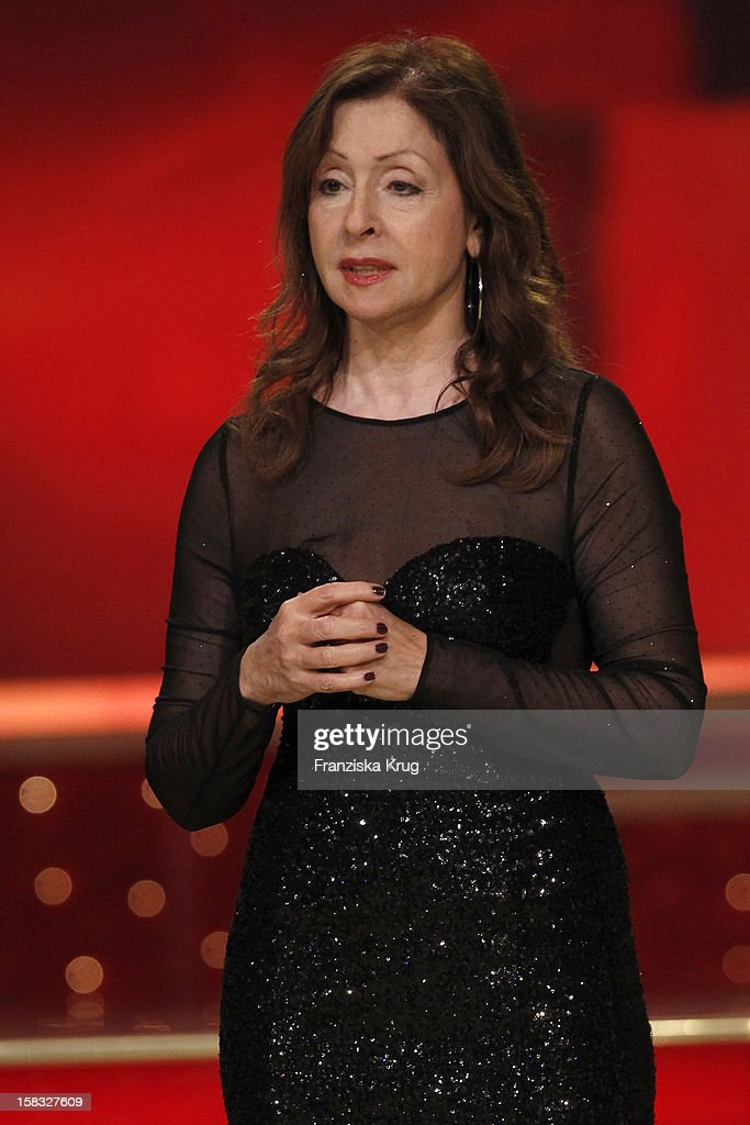 Vicky Leandros performs during the 18th Annual Jose Carreras Gala - Rehearsals on December 13, 2012 in Leipzig, Germany.