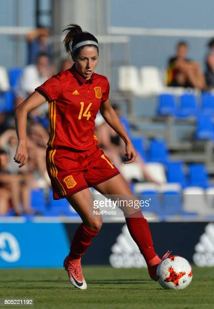 Vicky Losada during a friendly match between the national women's teams of Spain vs Belgium in Pinatar Arena Murcia Spain Friday June 30 2017