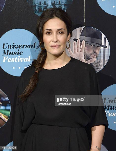 Vicky Martin Berrocal attends the Elton John concert at the Royal Theater on July 20 2015 in Madrid Spain