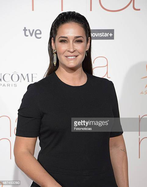 Vicky Martin Berrocal attends the 'Ma Ma' Premiere at the Capitol Cinema on September 9 2015 in Madrid Spain