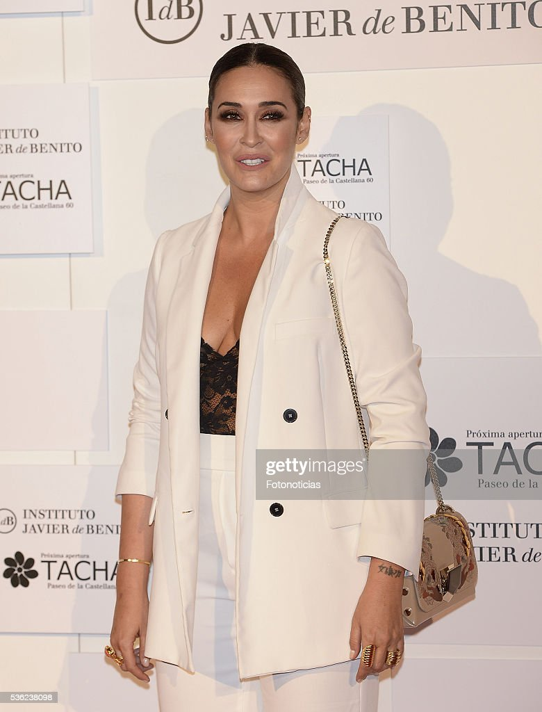 Vicky Martin Berrocal attends the Tacha Beauty and Javier de Benito Institute party at the Palacio de Santa Coloma on May 31, 2016 in Madrid, Spain.