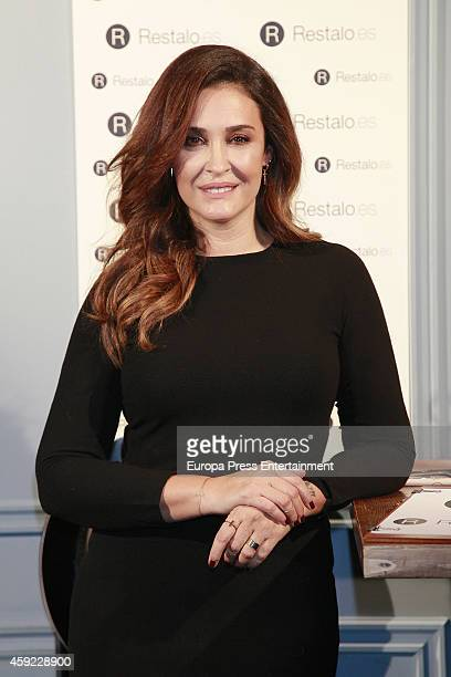 Vicky Martin Berrocal presents 'Restaloes' at Pipa and Co restaurant on November 18 2014 in Madrid Spain
