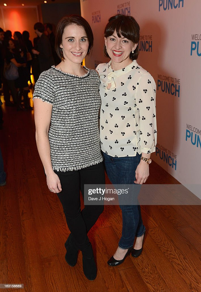 Vicky McClure and Jo Hartley attends the 'Welcome To The Punch' UK Premiere at the Vue West End on March 5, 2013 in London, England.
