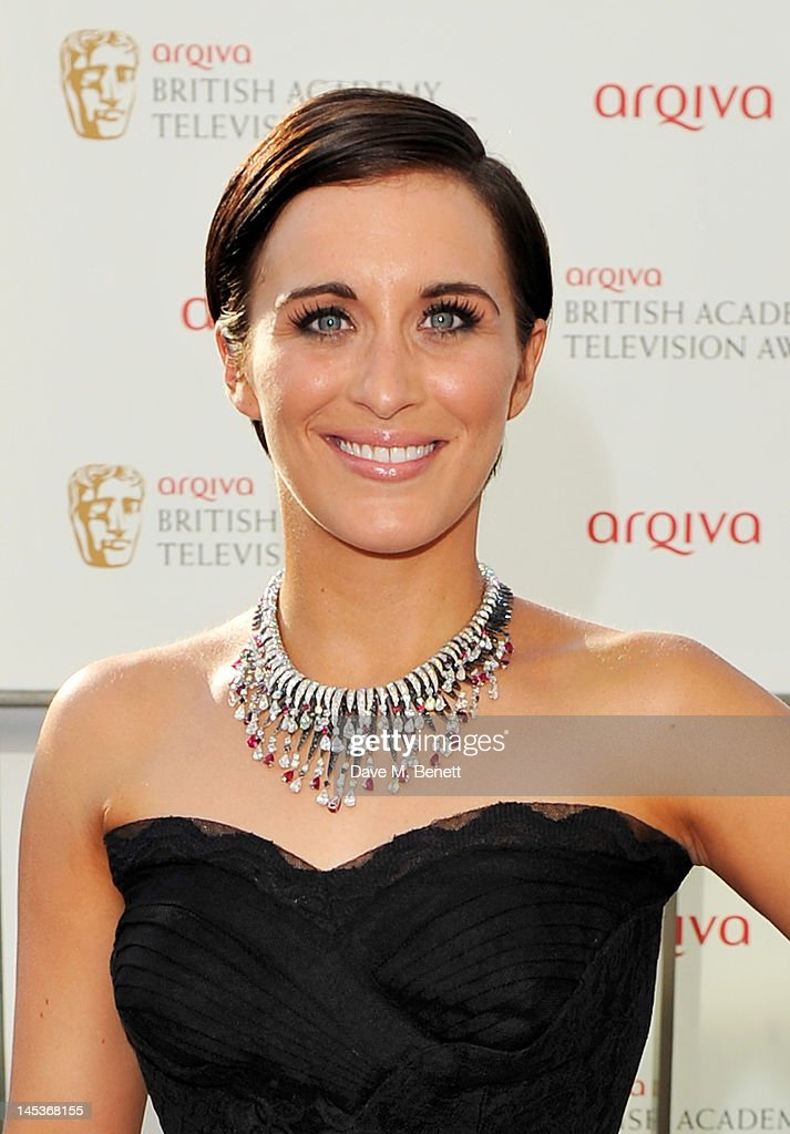 Vicky McClure arrives at the Arqiva British Academy Television Awards 2012 at Royal Festival Hall on May 27, 2012 in London, England.