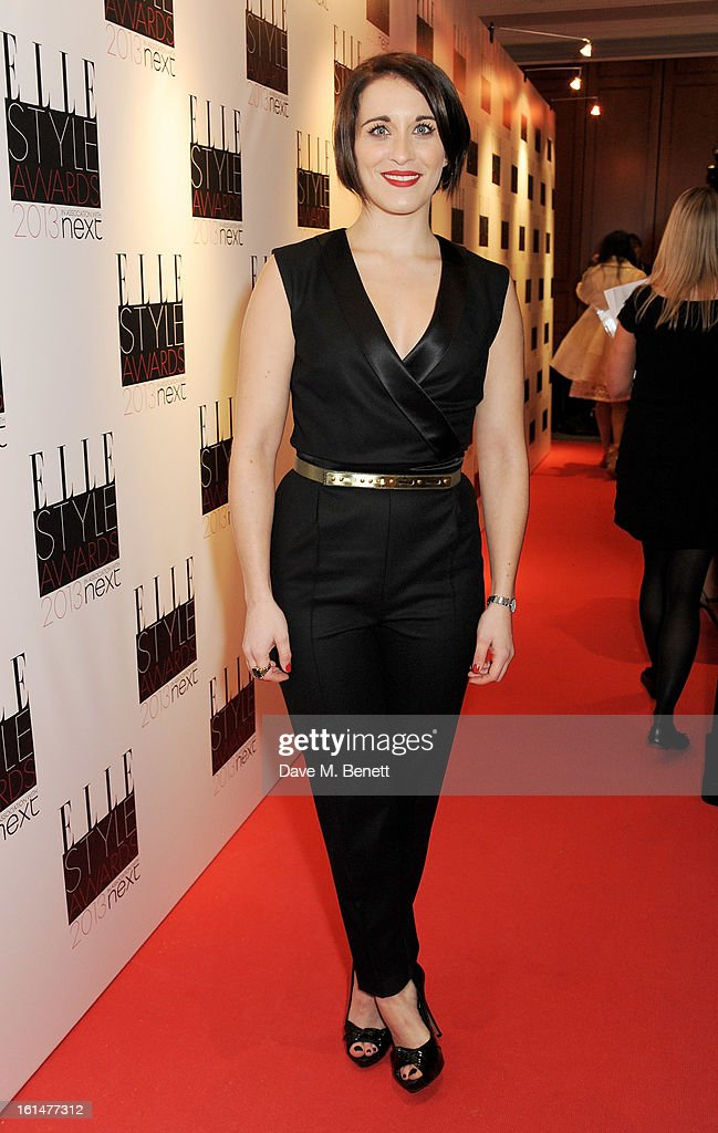 <a gi-track='captionPersonalityLinkClicked' href=/galleries/search?phrase=Vicky+McClure&family=editorial&specificpeople=3983255 ng-click='$event.stopPropagation()'>Vicky McClure</a> arrives at the Elle Style Awards at The Savoy Hotel on February 11, 2013 in London, England.