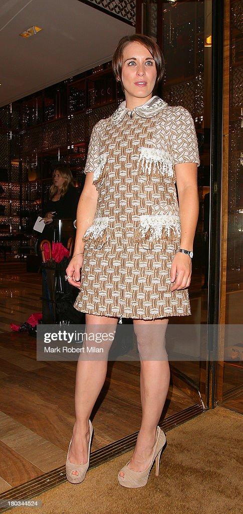 <a gi-track='captionPersonalityLinkClicked' href=/galleries/search?phrase=Vicky+McClure&family=editorial&specificpeople=3983255 ng-click='$event.stopPropagation()'>Vicky McClure</a> attending the Louis Vuitton Dinner to celebrate the Men's Autumn Winter 2013 Collection on September 11, 2013 in London, England.