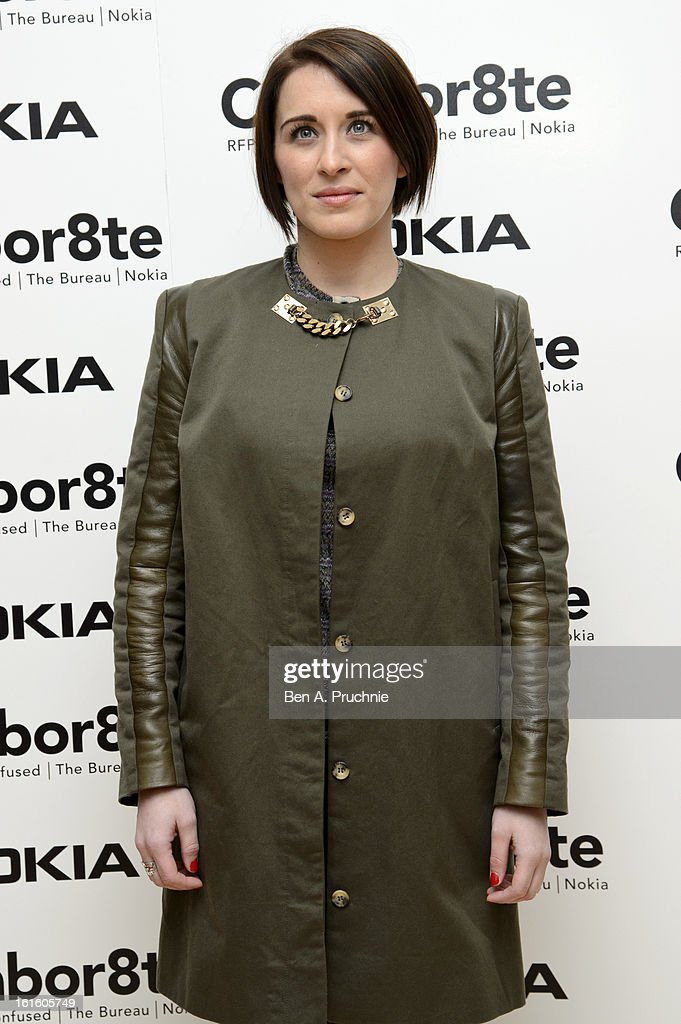 Vicky McClure attends the premiere of Rankin's Collabor8te connected by NOKIA at Regent Street Cinema on February 12, 2013 in London, England.