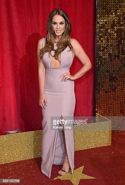 Vicky Pattison arrives for British Soap Awards 2016 at the Hackney Town Hall Assembly Rooms on May 28 2016 in London England