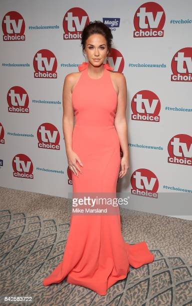 Vicky Pattison arrives for the TV Choice Awards at The Dorchester on September 4 2017 in London England