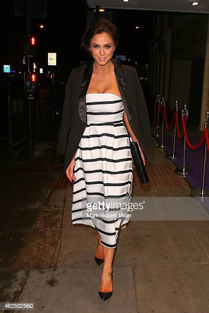 Vicky Pattison at the Troxy for Gav Aid 2015 on January 29 2015 in London England