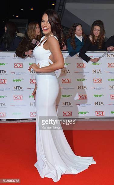 Vicky Pattison attends the 21st National Television Awards at The O2 Arena on January 20 2016 in London England