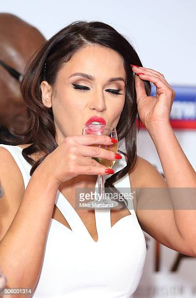 Vicky Pattison attends the 21st National Television Awards Winners Room at The O2 Arena on January 20 2016 in London England