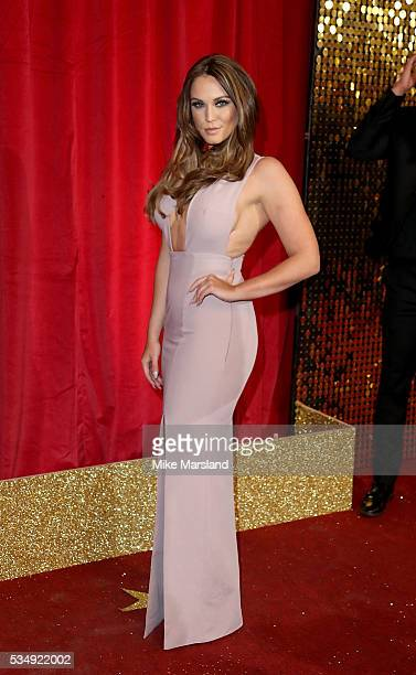 Vicky Pattison attends the British Soap Awards 2016 at Hackney Empire on May 28 2016 in London England