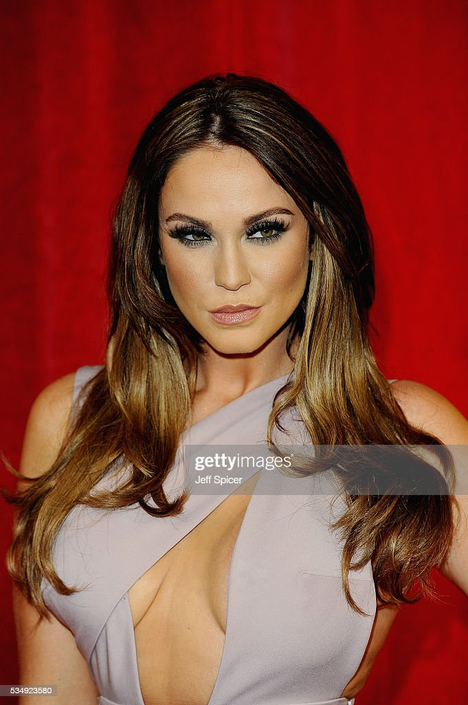Vicky Pattison attends the British Soap Awards 2016 at Hackney Empire on May 28, 2016 in London, England.