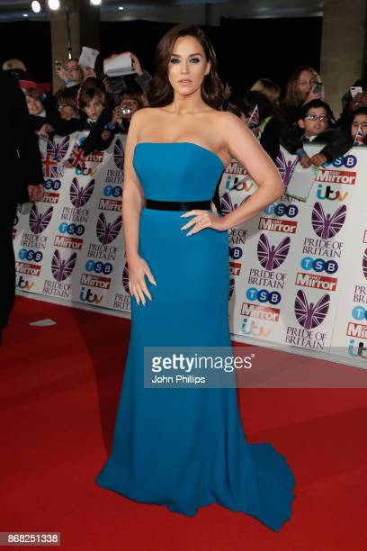 Vicky Pattison attends the Pride Of Britain Awards at Grosvenor House on October 30 2017 in London England