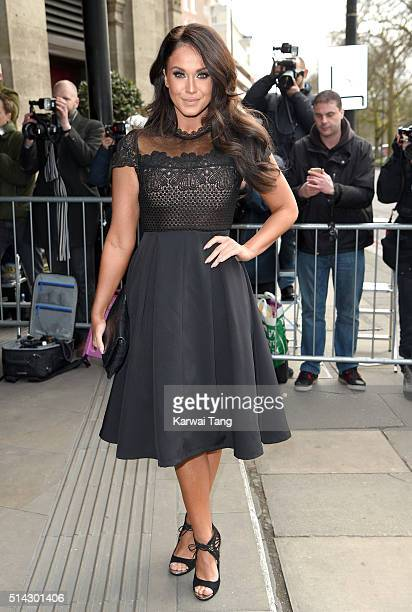 Vicky Pattison attends the TRIC Awards 2016 at Grosvenor House Hotel at The Grosvenor House Hotel on March 8 2016 in London England