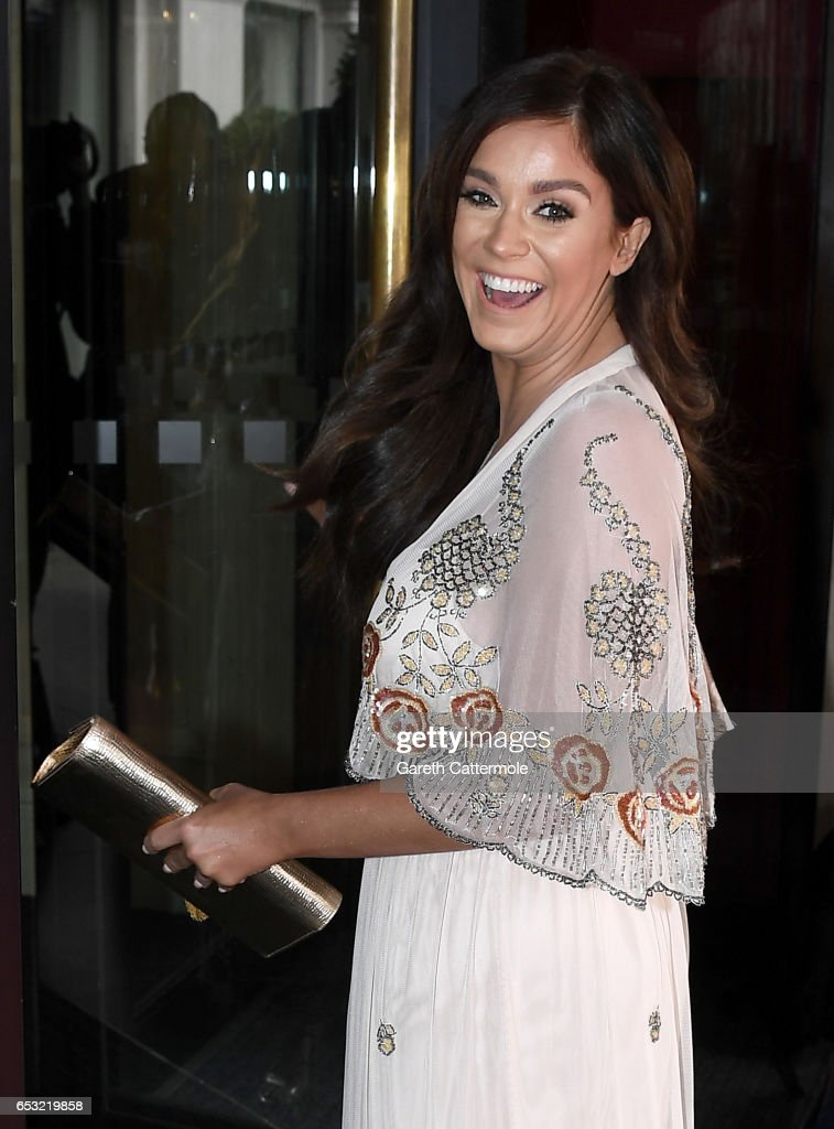 Vicky Pattison attends the TRIC Awards 2017 on March 14, 2017 in London, United Kingdom.